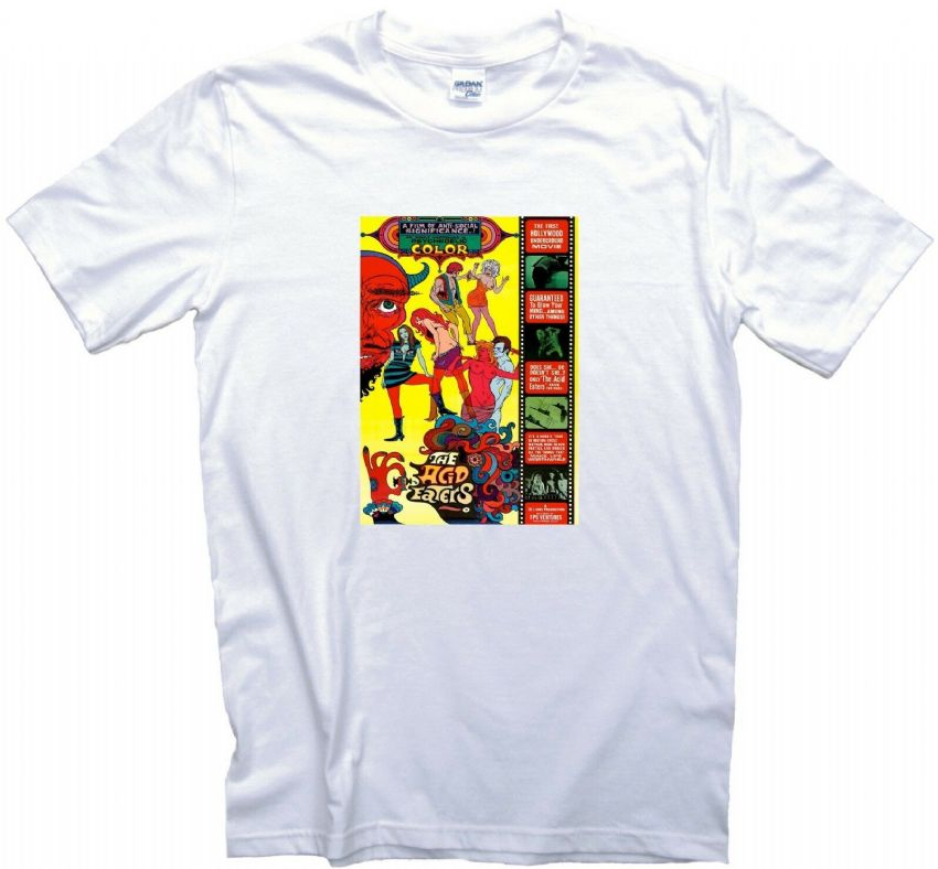 The Acid Eaters  T-Shirt Adults, Ladies & Kids Sizes 60s Psychedelia Movie Film Gift